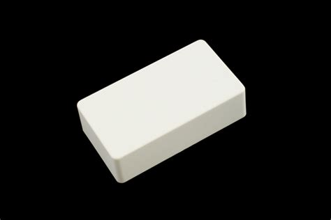 White Covers by Humbucking Covers No Holes White Plastic Allparts