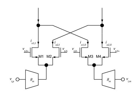 balanced diode mixer schematic balanced switching mixer intgckts