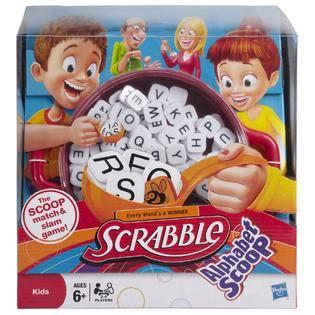 scrabble scoop scrabble alphabet scoop toys family board