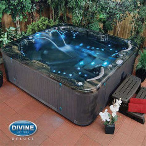 Home Spas And Tubs Home Accessory Waterfall Hottub Waterfall Pool With