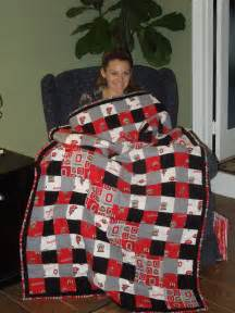 ohio state quilt things i made