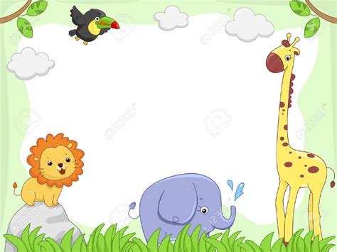 zoo animal border clip studio design gallery
