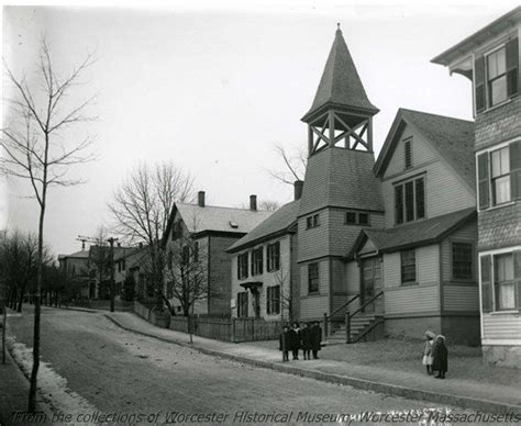 lincoln plaza worcester mass baptist church at 43 c 1896