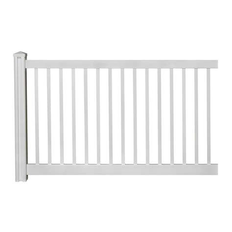 7ft Trellis Panels Wambam Traditional 4ft H X 7ft W Premium Vinyl Yard Fence