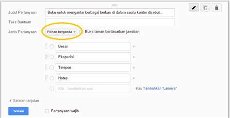 membuat soal online dengan google drive membuat soal online dengan google formulir anugerah dino