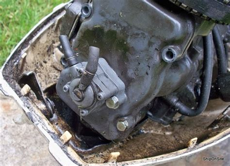 pre  honda   hp  stroke cc outboard motor powerhead   ebay