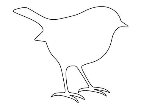 printable templates of birds 17 best ideas about bird template on pinterest bird