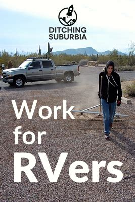 work for rvers ditching suburbia
