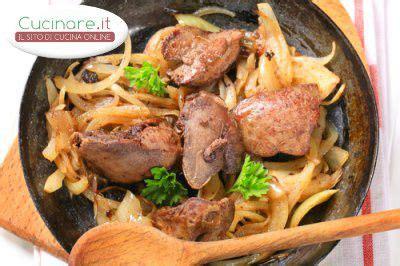 cucinare fegato ricetta fegato alla veneziana cucinare it