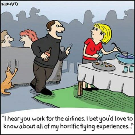 17 Best Images About Flight Attendant Comic Strips On