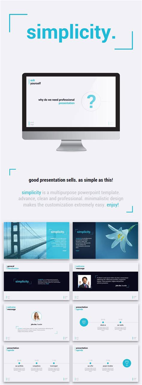 powerpoint design edit 20 ppt templates for simple modern powerpoint presentations