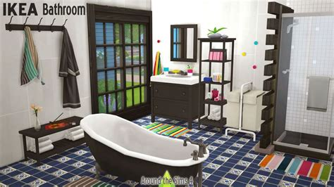 lana cc finds decor for bathroom ikea set 01 by 20 best sims 4 dining room sets images on pinterest