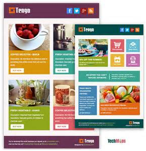 templates for mailchimp free tengo metro style free responsive email template