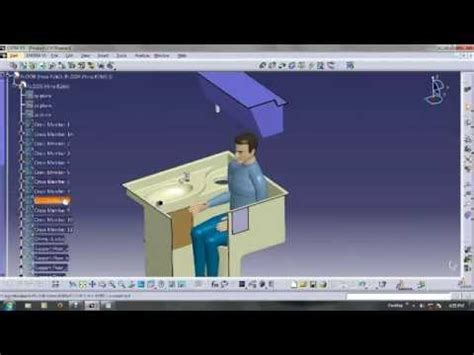 tutorial catia insert manikin youtube