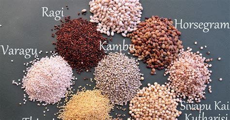 whole grains names in tamil kaarasaaram miracle grains siru thaaniyangal