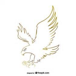Flying Eagle Outline by Flying Eagle Sketch Vector Vector Free