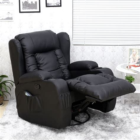 rocker recliner chair uk caesar 10 in 1 winged leather recliner chair rocking