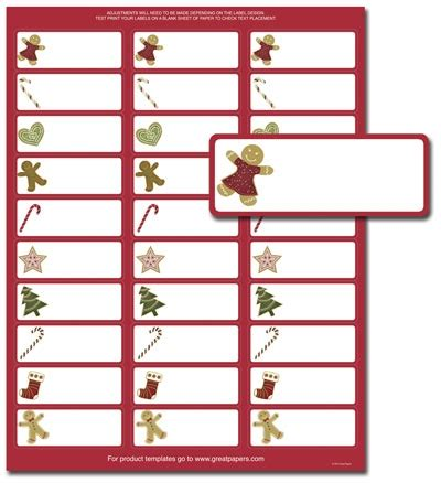 Free Avery Christmas Address Label Templates avery 5160 label template invitation template