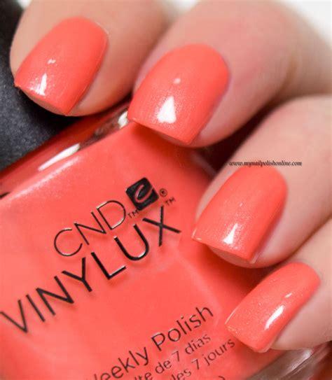 Cnd Vinylux Desert Poppy cnd vinylux desert poppy my nail