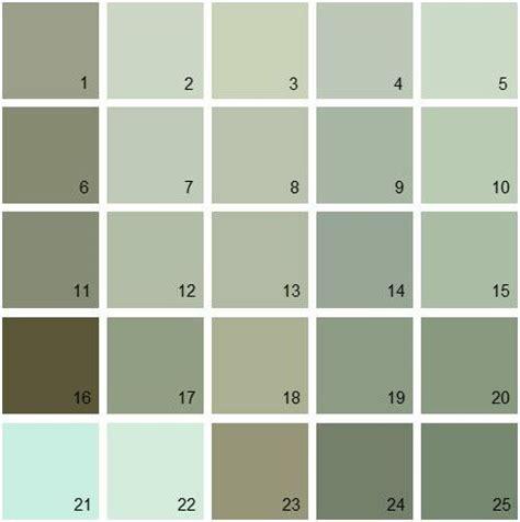 benjamin moore paint colors green palette  benjamin