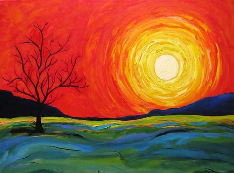 acrylic paint near me best 25 painting ideas on sunset