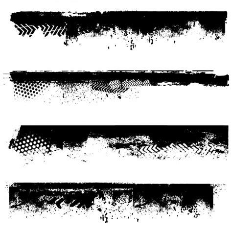 grunge design elements vector free grunge black borders vector free download