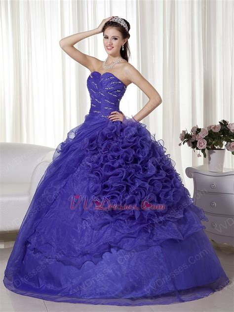 wisteria colored dresses wisteria purple ruffle designer dress to quinceanera