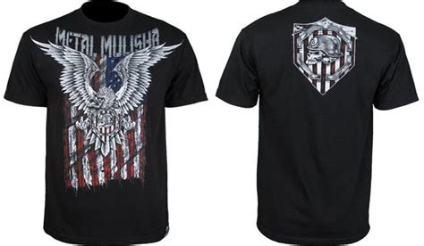 Tshirt Kaos Metal Gear metal mulisha fight gear t shirts fighterxfashion