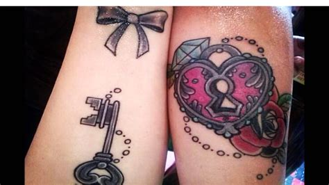 his and her tattoo ideas youtube