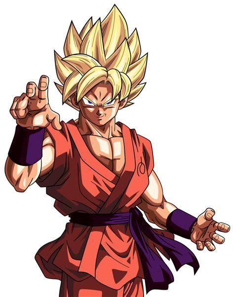 imagenes de goku dragon ball super goku ss fnf suit dbz recolor style by erickretrodbz on