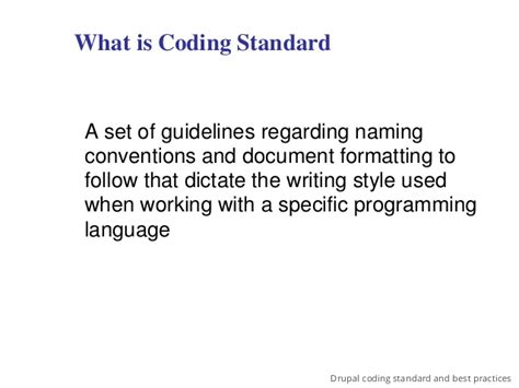 Drupal Theme Naming Conventions   drupal coding standards and best practices