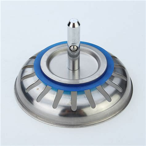 kitchen sink plug strainer 304 stainless steel kitchen sink strainer stopper waste