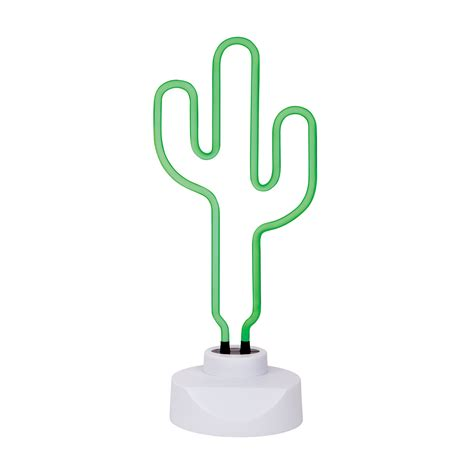 cactus with lights leo sunnylife cactus neon light large