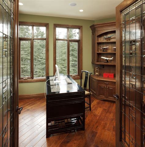 houzz home office country residence traditional home office calgary