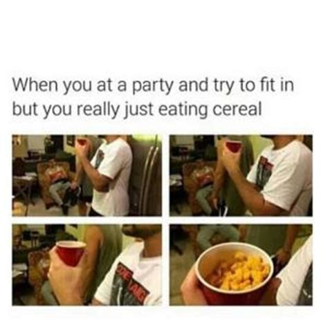 Cereal Eating Meme - good party jokes kappit