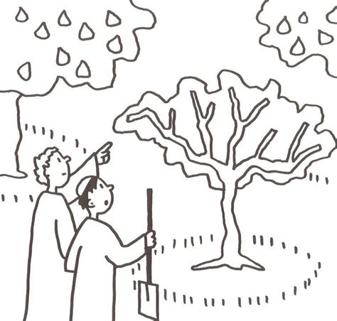 Coloring Page Of A Fig Tree | free coloring pages of fig trees