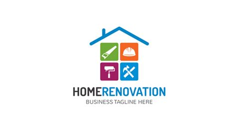 home renovation logo logos graphics