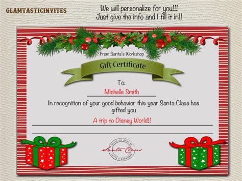 diy voucher template gift certificate template 42 exles in pdf word in