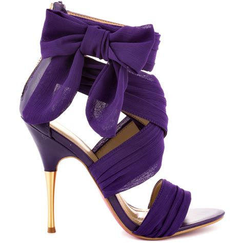 purple shoes purple stiletto heels fashionate trends