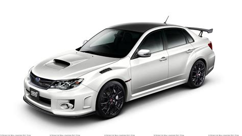 white subaru wrx subaru impreza wrx sti s206 in white n white background