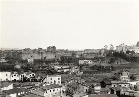 porta capena piazza porta capena 1890 ca roma ieri oggi