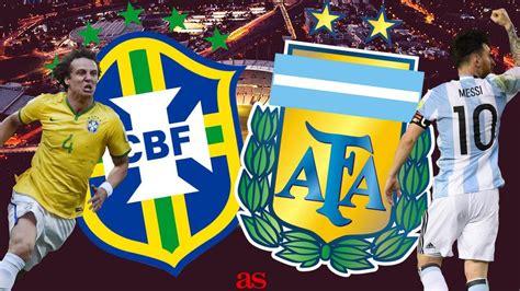 brazil 0 1 argentina live score updates as gabriel mercado