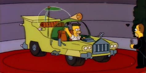 that disastrous car homer designed was actually