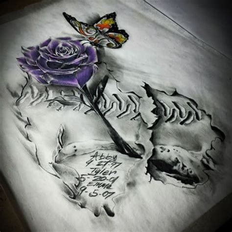 the rose that grew from concrete tattoo concrete tattoos