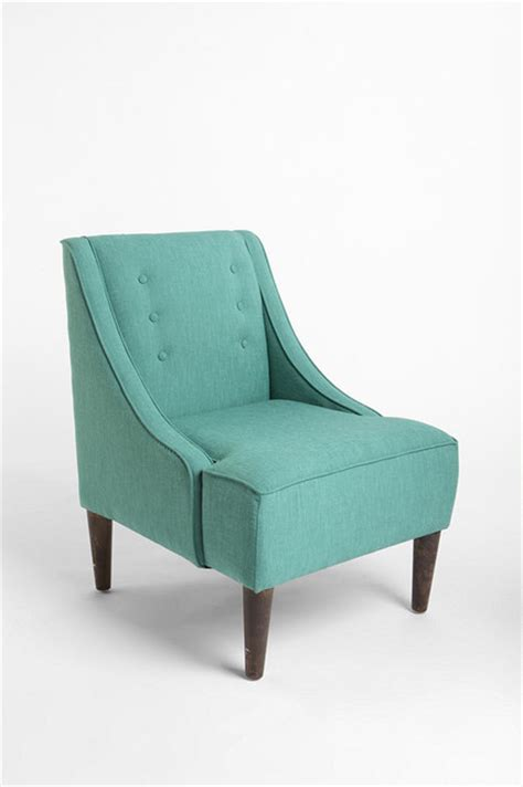 In A Blue Armchair by Madeline Chair Turquoise Armchairs And