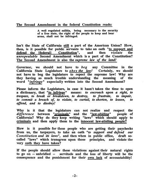 Amendment Essay by Essay On 2nd Amendment