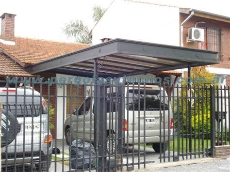 cobertizo metalico para coches techos entrada de autos techos para duplex