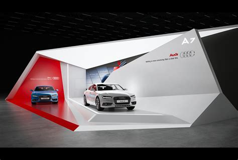 Auto By Design by Audi A7 Exhibition Stand Design Gm Stand Design