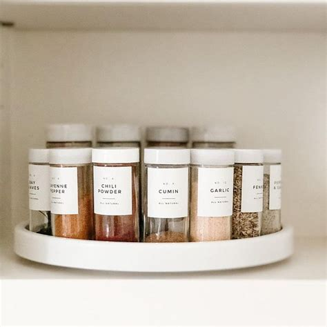 modern pantry labels personalization  durable