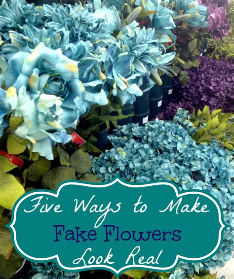 how to make silk flowers look real five ways to make fake flowers look real time for all things